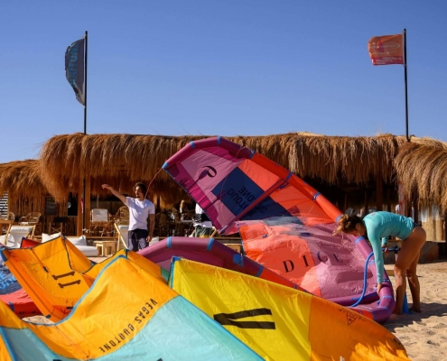 makani beach club el gouna duotone kiteschool