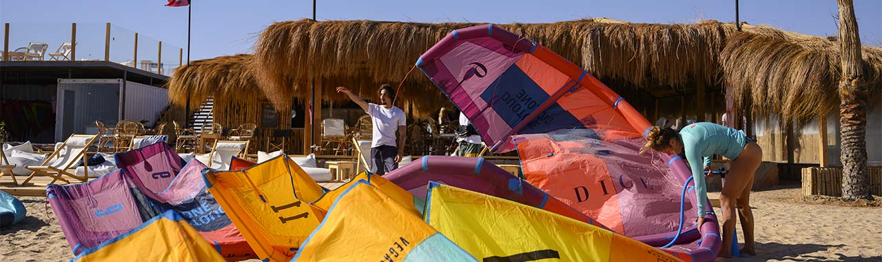Kitesurfing Rent Duotone equipment El Gouna