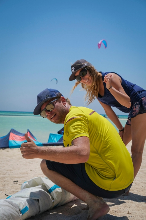 love Makani Beach Club kitesurfing
