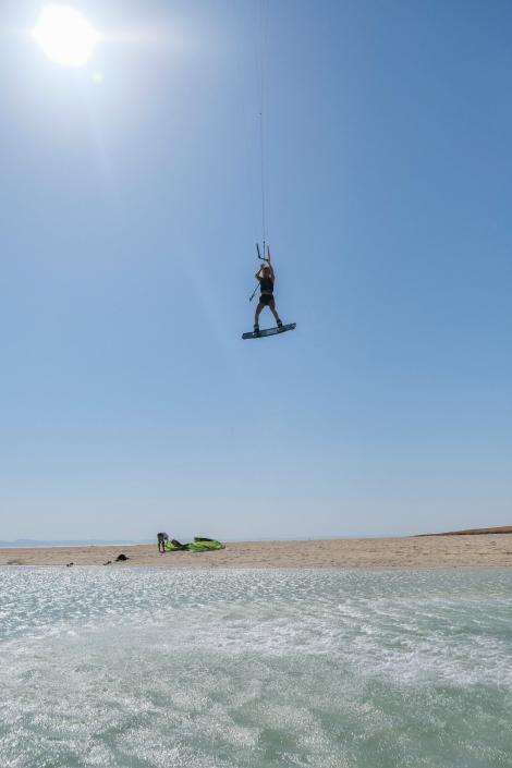 Flying high Makani Beach Club