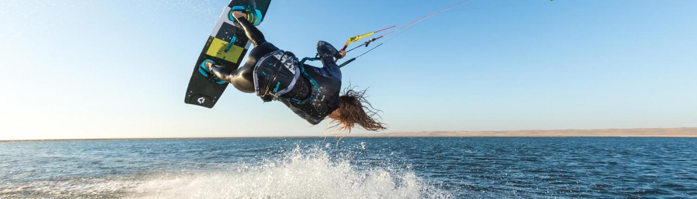 Duotone Kiteboarding Select Action kitesurfing equipment