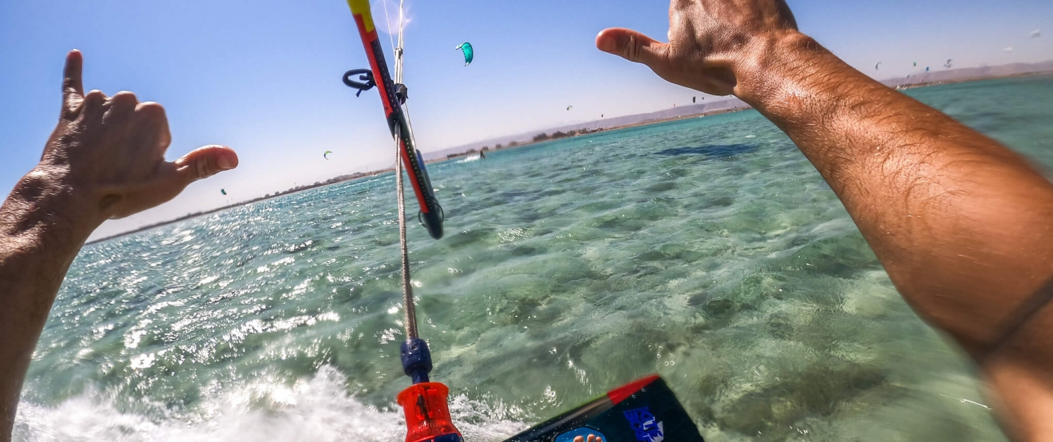 kiten kitesurfing el Gouna learn to red sea Egypt