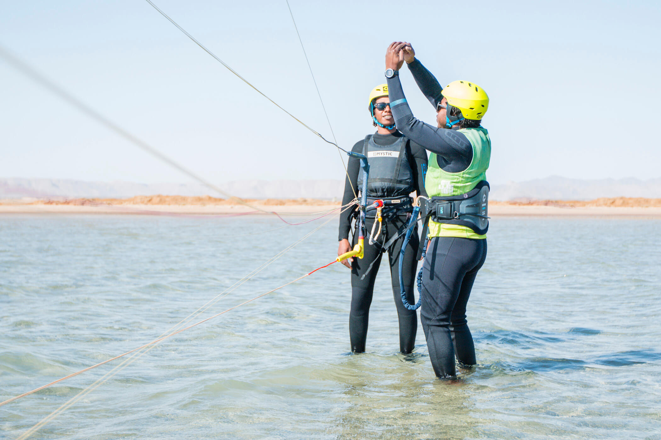 El Gouna Kitesurf teaching Makani Beach Club