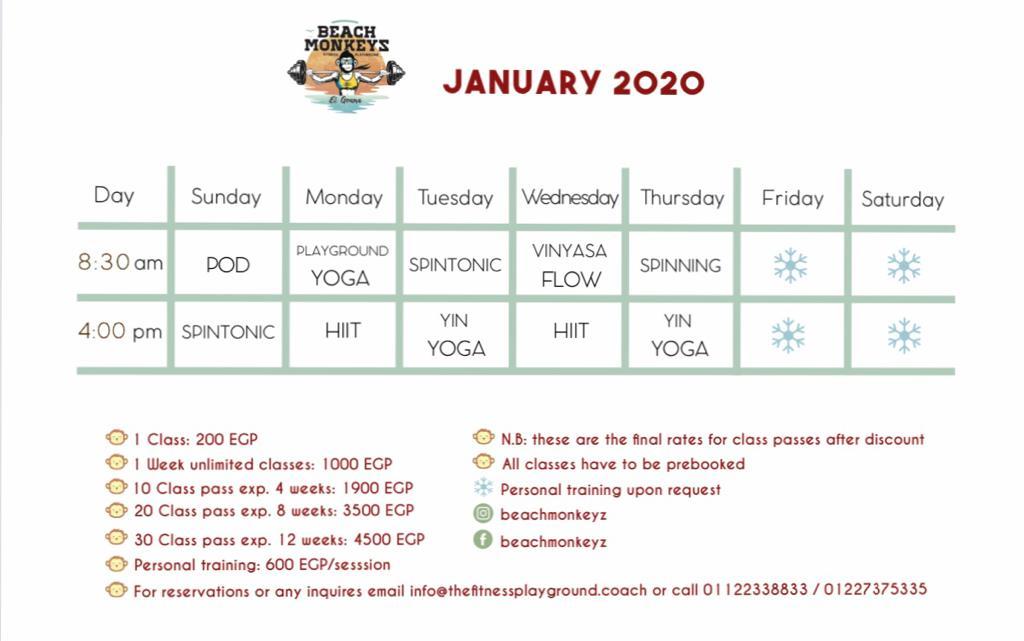 BM January 2020