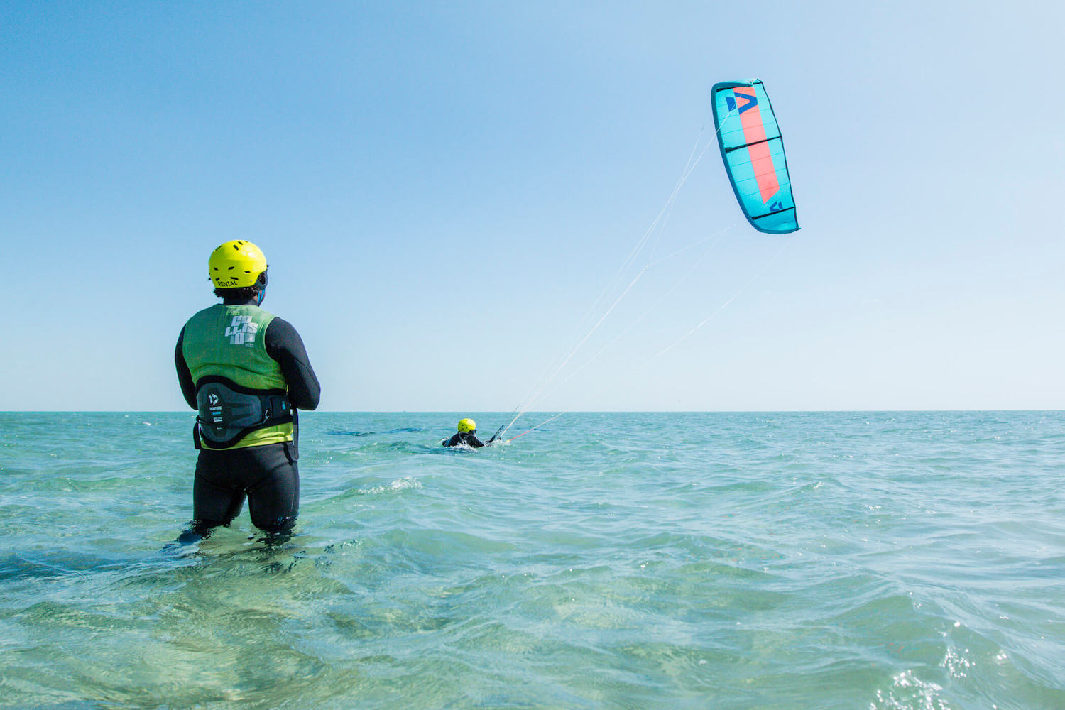 teaching kitesurfing El Gouna